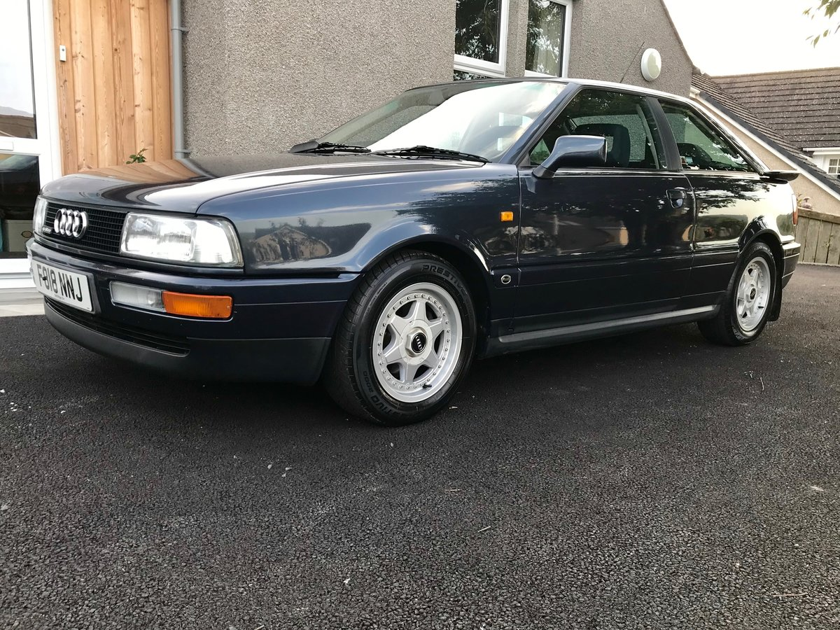 1989 Audi Quattro Coupe 2.2 SOLD (picture 1 of 5)