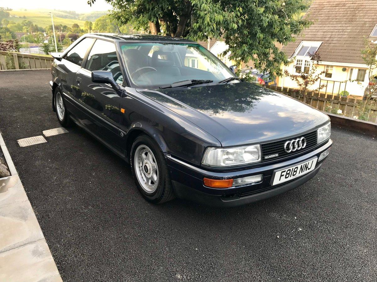 1989 Audi Quattro Coupe 2.2 SOLD (picture 2 of 5)