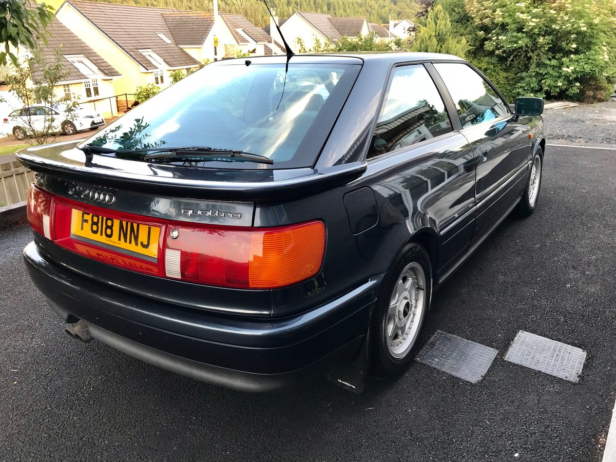 1989 Audi Quattro Coupe 2.2 SOLD (picture 3 of 5)