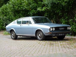 1974 Beautiful Audi 100 Coupe S in a restored condition For Sale