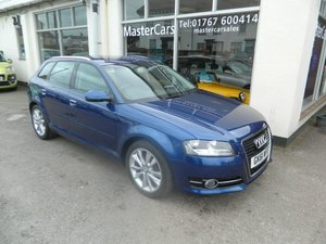 2011/61 Audi A3 1.8TFSi Sport S Tronic 5dr 68391 miles FSH For Sale