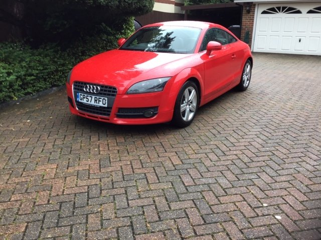 2008 Audi TT FSi Turbo Coupe For Sale (picture 1 of 6)