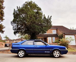 1985 Audi GT COUPE 2.0 Petrol Engine 5 cylinder