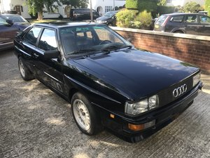 1983 AUDI COUPE UR QUATTRO LEFT HAND DRIVE STUNNING CAR  For Sale