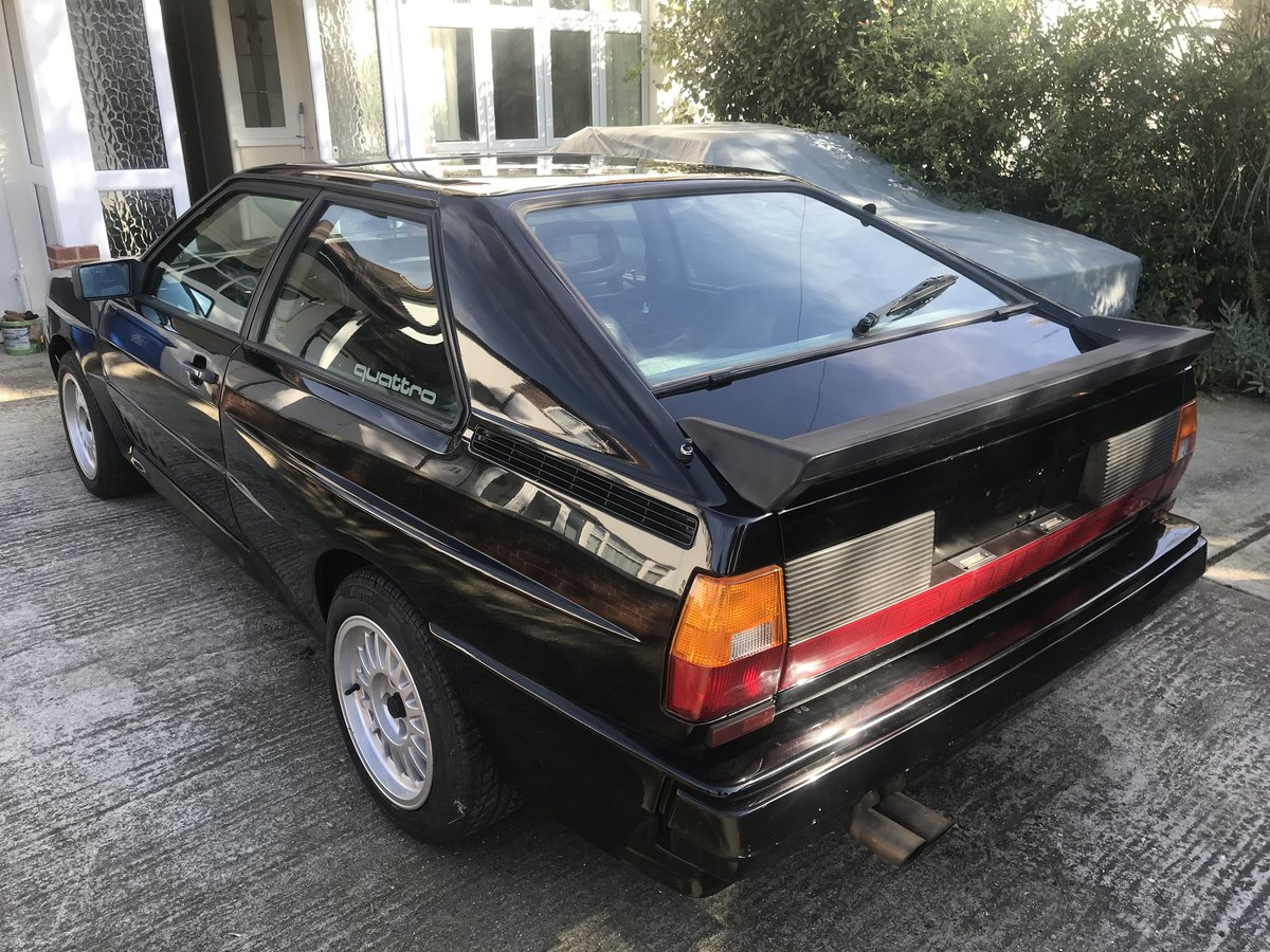 1983 AUDI COUPE UR QUATTRO LEFT HAND DRIVE STUNNING CAR  For Sale (picture 3 of 6)
