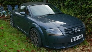 2004 Audi Mk I TT 3.2 Quattro Roadster For Sale by Auction