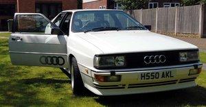 Audi UR Quattro 1990 RR 20 Valve