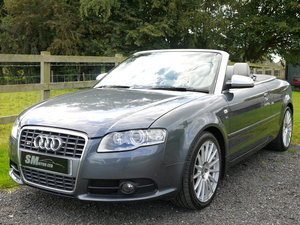 2008 AUDI S4 CABRIOLET 4.2 V8 QUATTRO AUTO 44K MILES F.A.S.H. For Sale