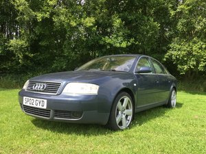 2002 Audi A6 Quattro SE For Sale by Auction