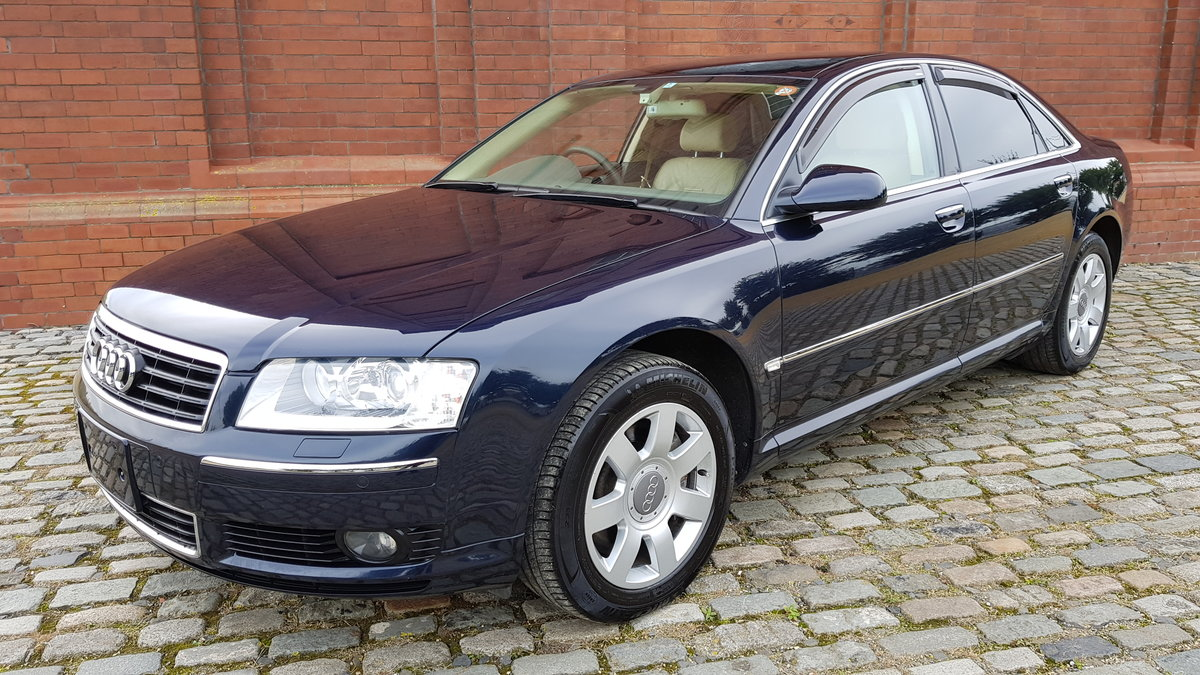 2004 AUDI A8 4.2 V8 QUATTRO 4 WHEEL DRIVE AUTOMATIC * FRESH IMPOR For Sale (picture 1 of 6)