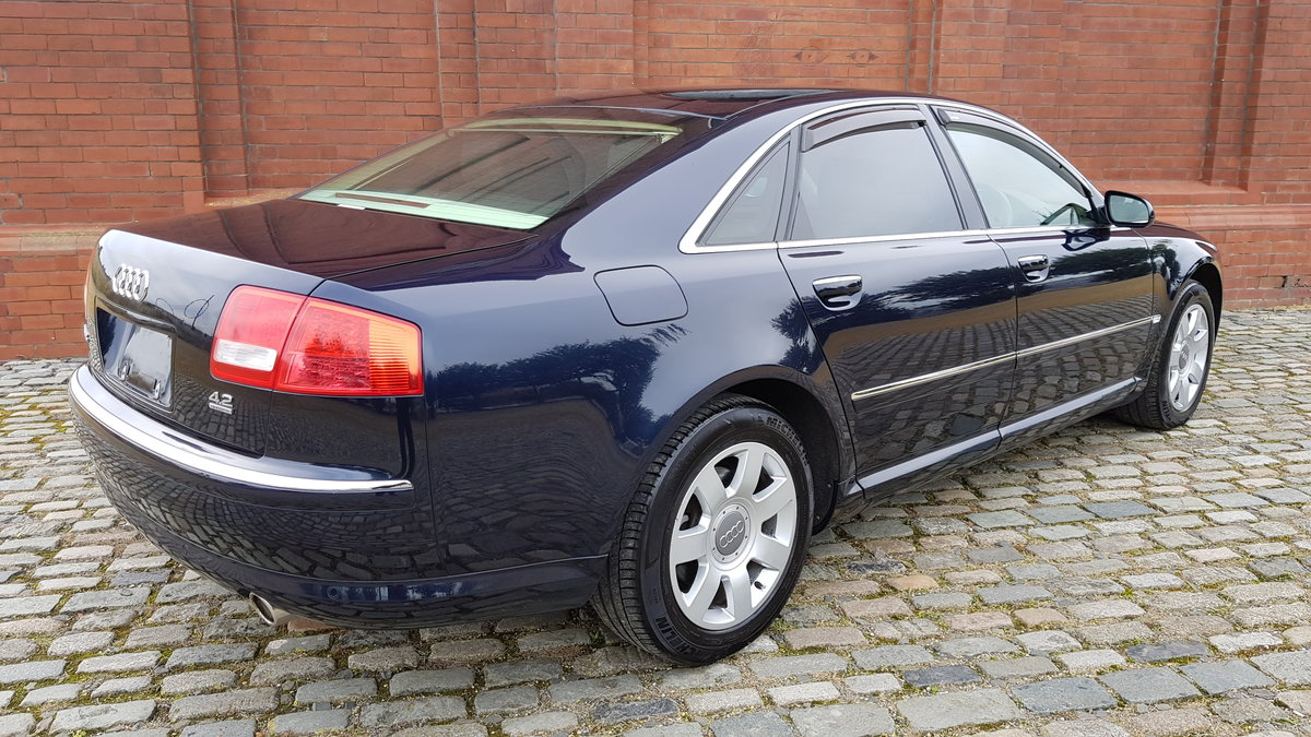 2004 AUDI A8 4.2 V8 QUATTRO 4 WHEEL DRIVE AUTOMATIC * FRESH IMPOR For Sale (picture 2 of 6)