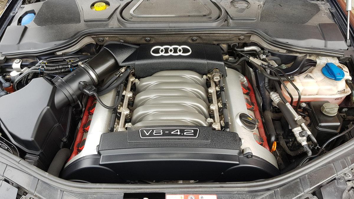 2004 AUDI A8 4.2 V8 QUATTRO 4 WHEEL DRIVE AUTOMATIC * FRESH IMPOR For Sale (picture 6 of 6)