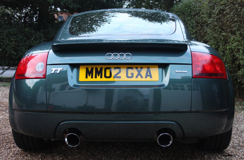 Audi TT 1.8 T Quattro 2dr Coupe 2002 (low mileage) For Sale (picture 2 of 6)
