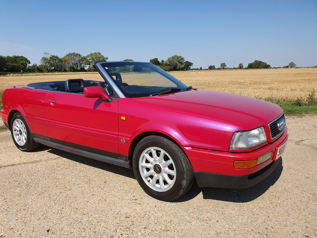 1995 AUDI-80-CABRIOLET-CONVERTIBLE-AUTO For Sale (picture 3 of 6)