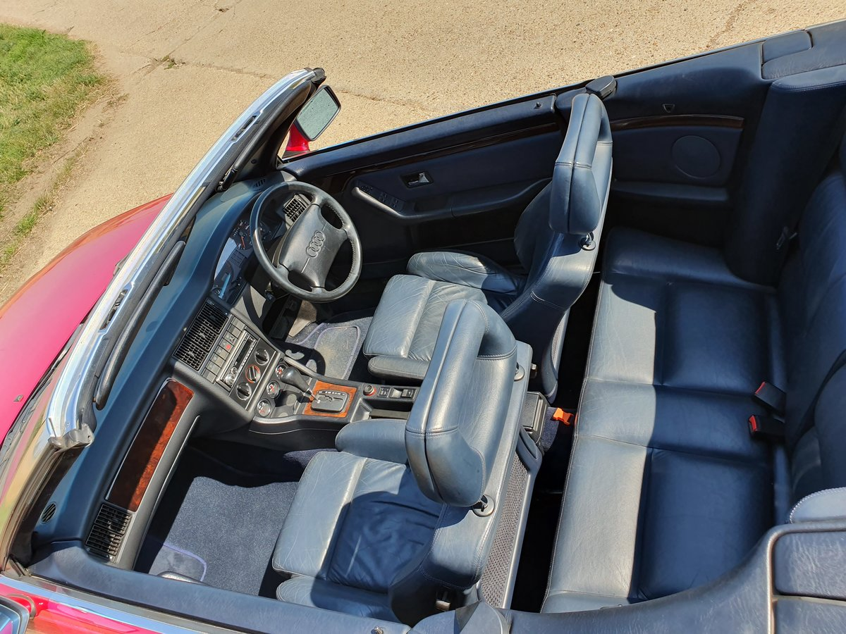 1995 AUDI-80-CABRIOLET-CONVERTIBLE-AUTO For Sale (picture 4 of 6)