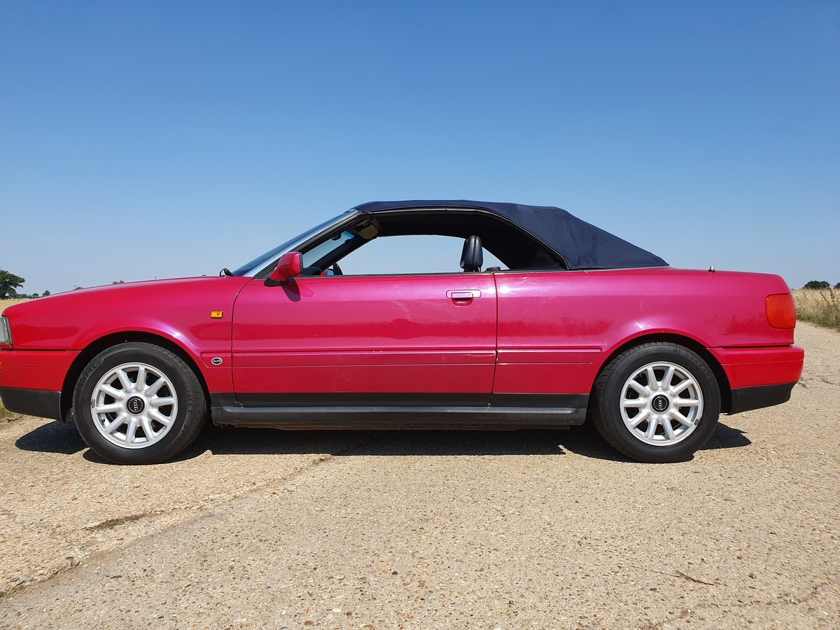 1995 AUDI-80-CABRIOLET-CONVERTIBLE-AUTO For Sale (picture 6 of 6)