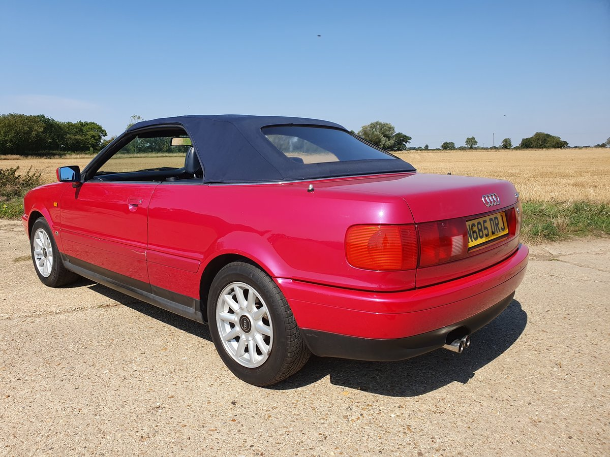 1995 AUDI-80-CABRIOLET-CONVERTIBLE-AUTO For Sale (picture 2 of 6)