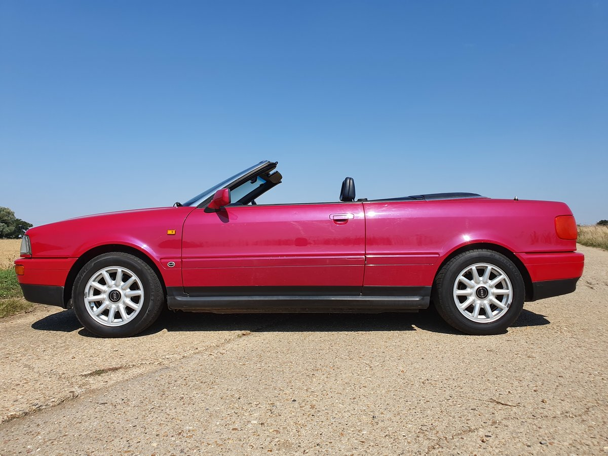 1995 AUDI-80-CABRIOLET-CONVERTIBLE-AUTO For Sale (picture 1 of 6)