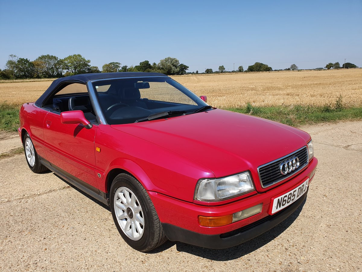 1995 AUDI-80-CABRIOLET-CONVERTIBLE-AUTO For Sale (picture 5 of 6)
