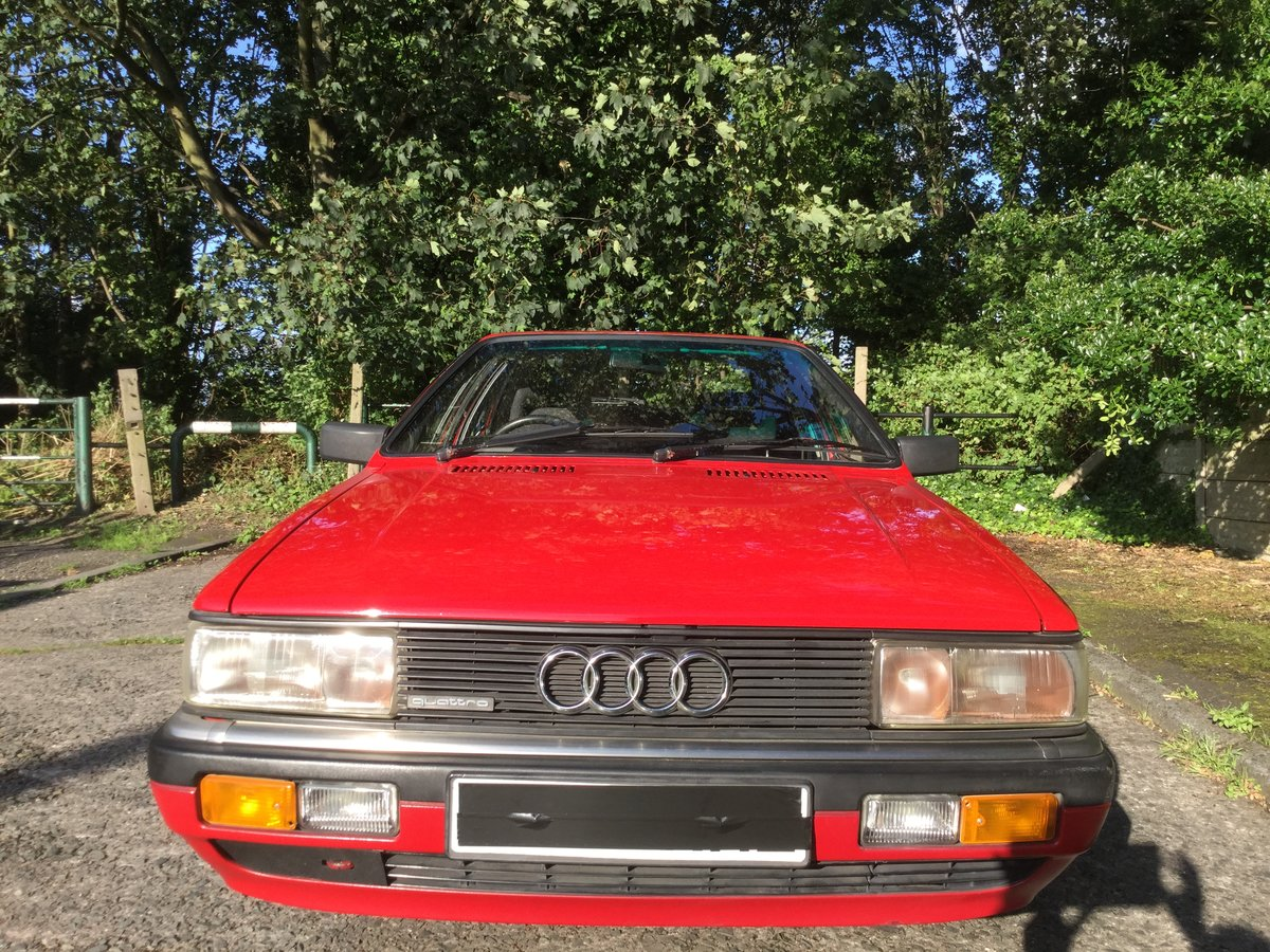 1985 Audi Quattro Coupe 2.2 non turbo 5 speed manual For Sale (picture 1 of 6)