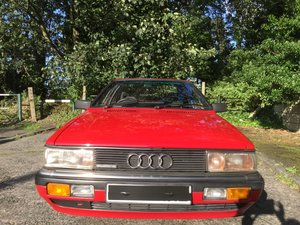 1985 Audi Quattro Coupe 2.2 non turbo 5 speed manual