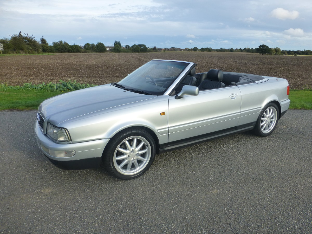 1999 Audi Cabriolet  1.8 Final Edition Sport Pack For Sale (picture 1 of 6)