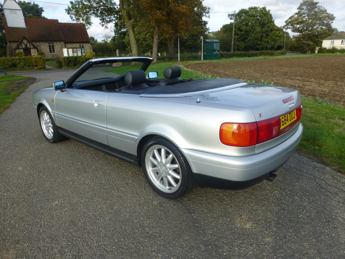 1999 Audi Cabriolet  1.8 Final Edition Sport Pack For Sale (picture 2 of 6)