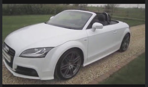 2012 Audi tt 2.0 tdi s line black edition convertible For Sale