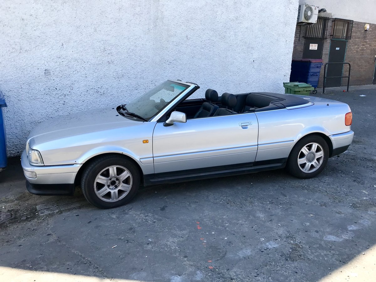 1998 Audi convertible For Sale (picture 1 of 6)