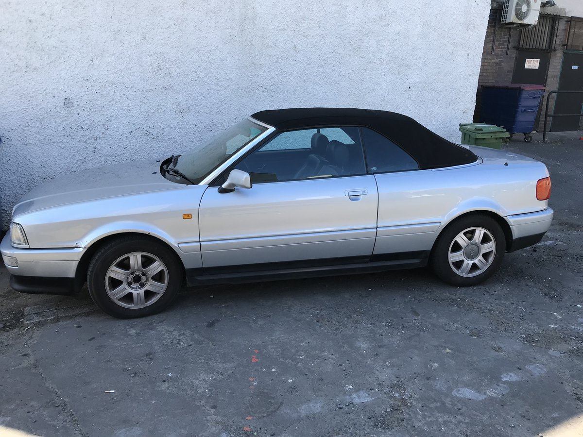 1998 Audi convertible For Sale (picture 5 of 6)