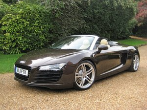 2011 Audi R8 Spyder V8 Quattro With Just 17,800 Miles From New For Sale