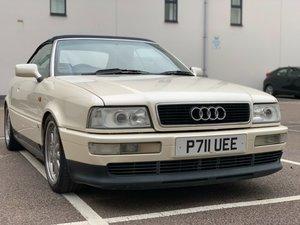 1997 Audi 80 Cabriolet Pearl White very Rare