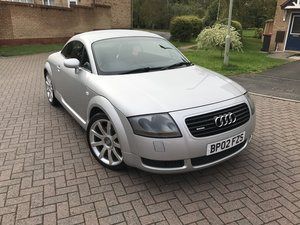 2002 Audi TT 225bhp*Quattro*FDSH*BOSE*Cruise Control*2 Keys* SOLD