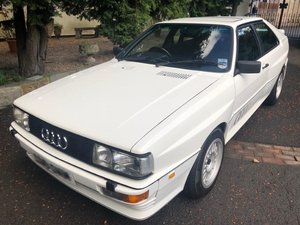1986 AUDI QUATTRO TURBO