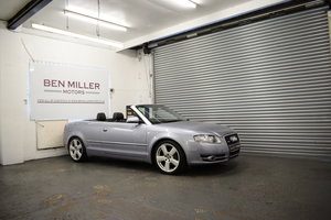 2008 Audi A4 Cabriolet 2.0 TDI S-Line SOLD