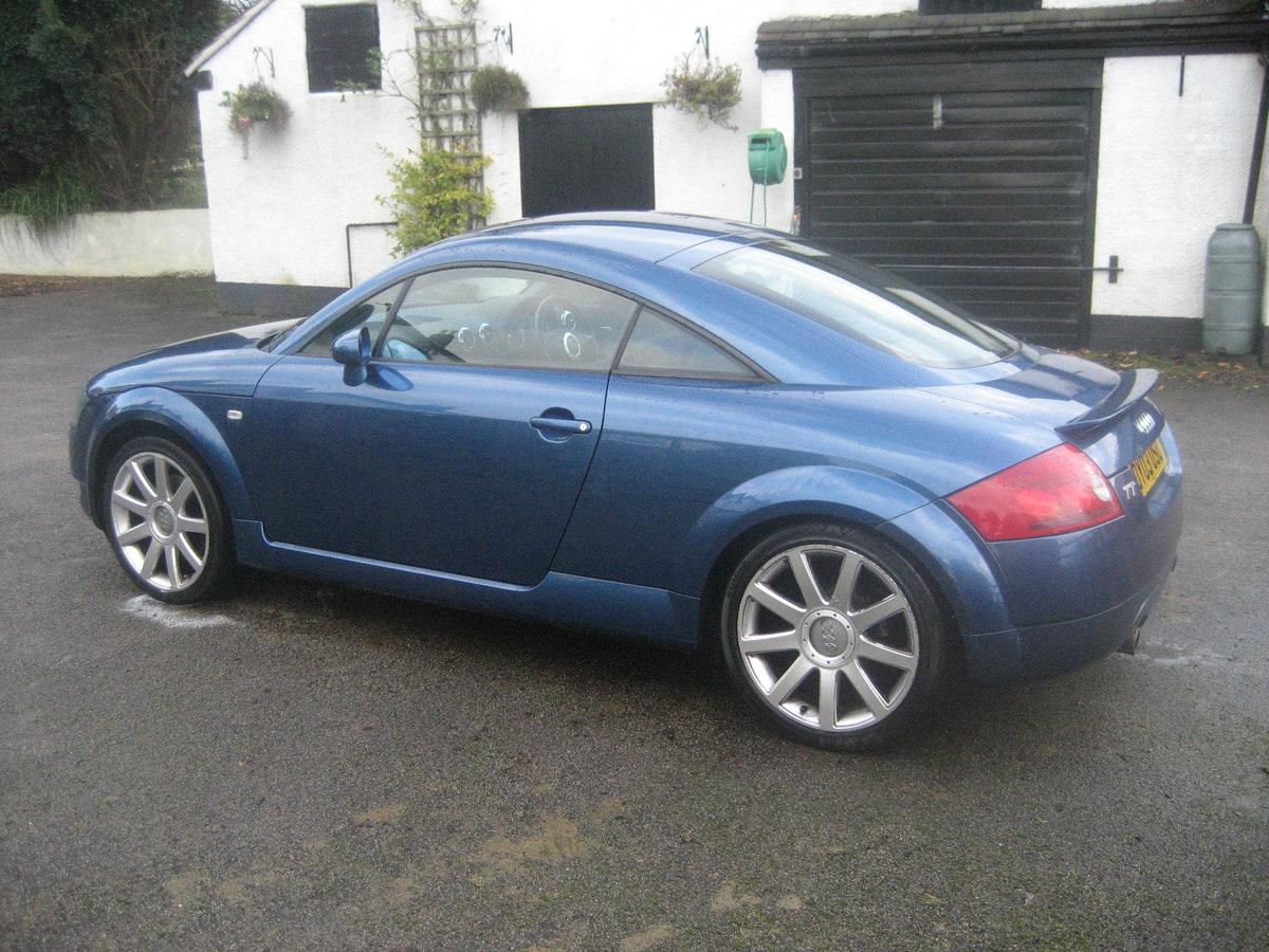 2003 Audi TT 1.8 Quatro turbo, bi fuel petrol / LPG For Sale (picture 2 of 6)
