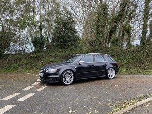2006  56 AUDI RS4 4.2 V8 B7 AVANT PHANTOM BLACK