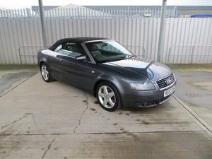 2003 Audi A4 1.8T Sport Convertible with 73,047 Miles.