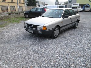1988 AUDI 80 1.8E QUATTRO - ONE OWNER - ASI