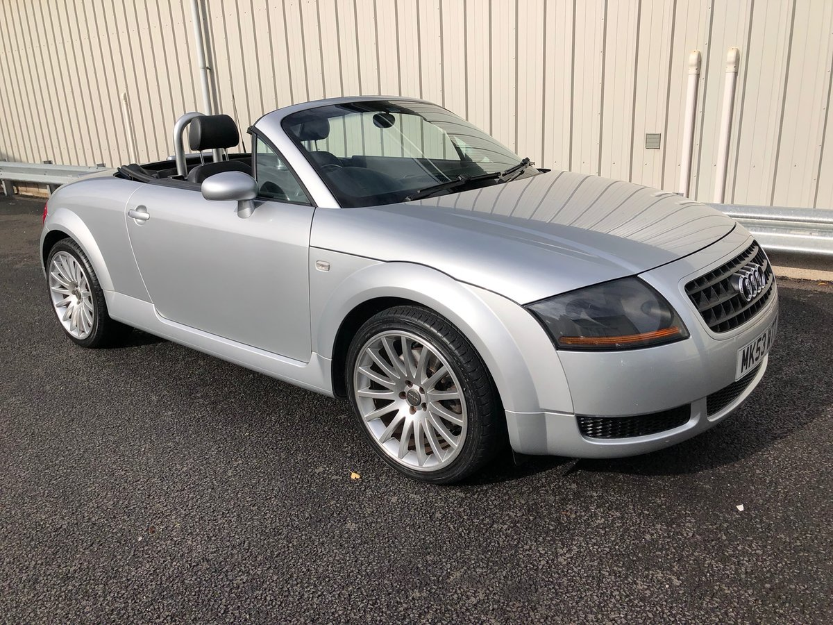 2003 53 AUDI TT 1.8 ROADSTER 150 BHP FUTURE CLASSIC! For Sale (picture 1 of 6)
