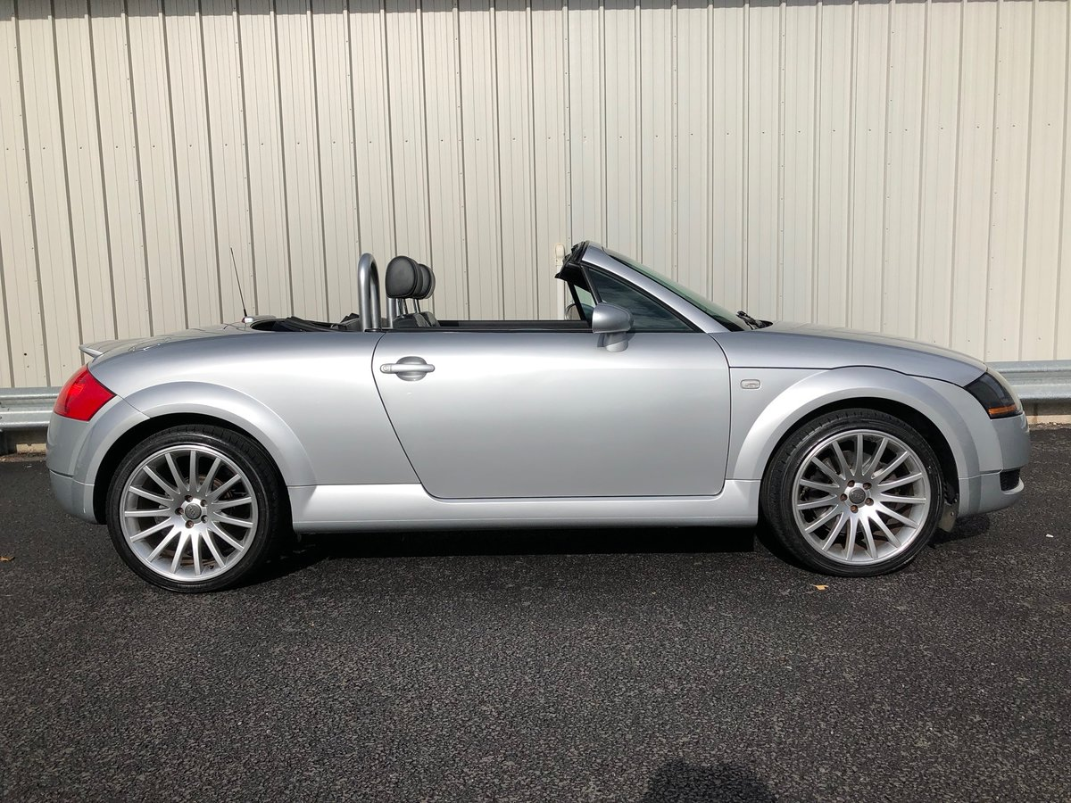 2003 53 AUDI TT 1.8 ROADSTER 150 BHP FUTURE CLASSIC! For Sale (picture 2 of 6)