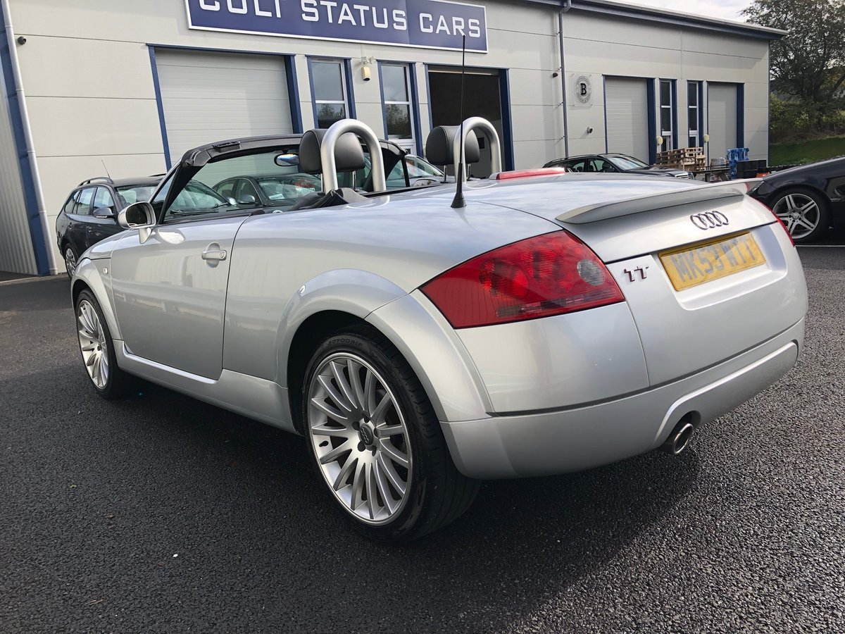 2003 53 AUDI TT 1.8 ROADSTER 150 BHP FUTURE CLASSIC! For Sale (picture 5 of 6)