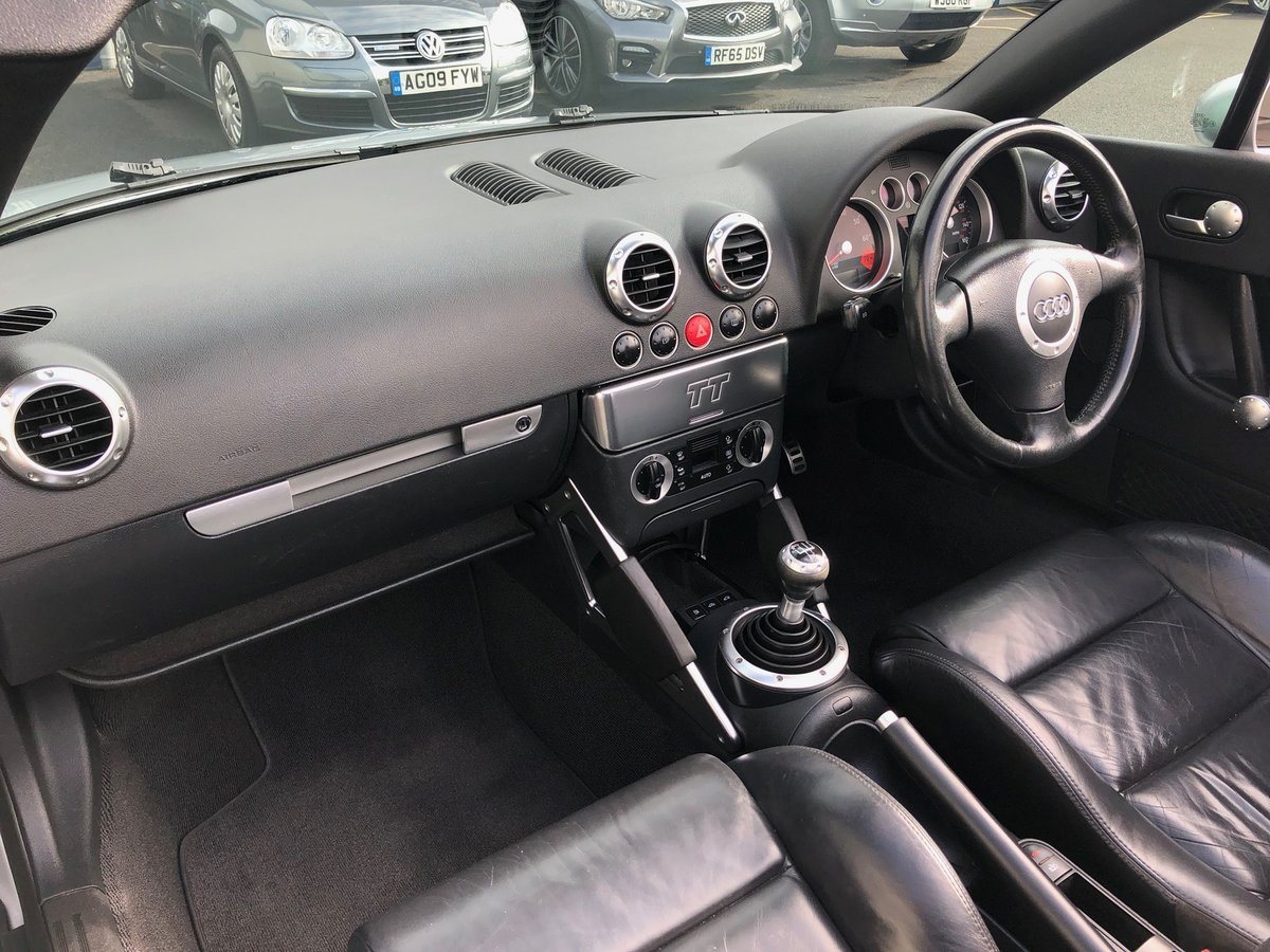 2003 53 AUDI TT 1.8 ROADSTER 150 BHP FUTURE CLASSIC! For Sale (picture 6 of 6)
