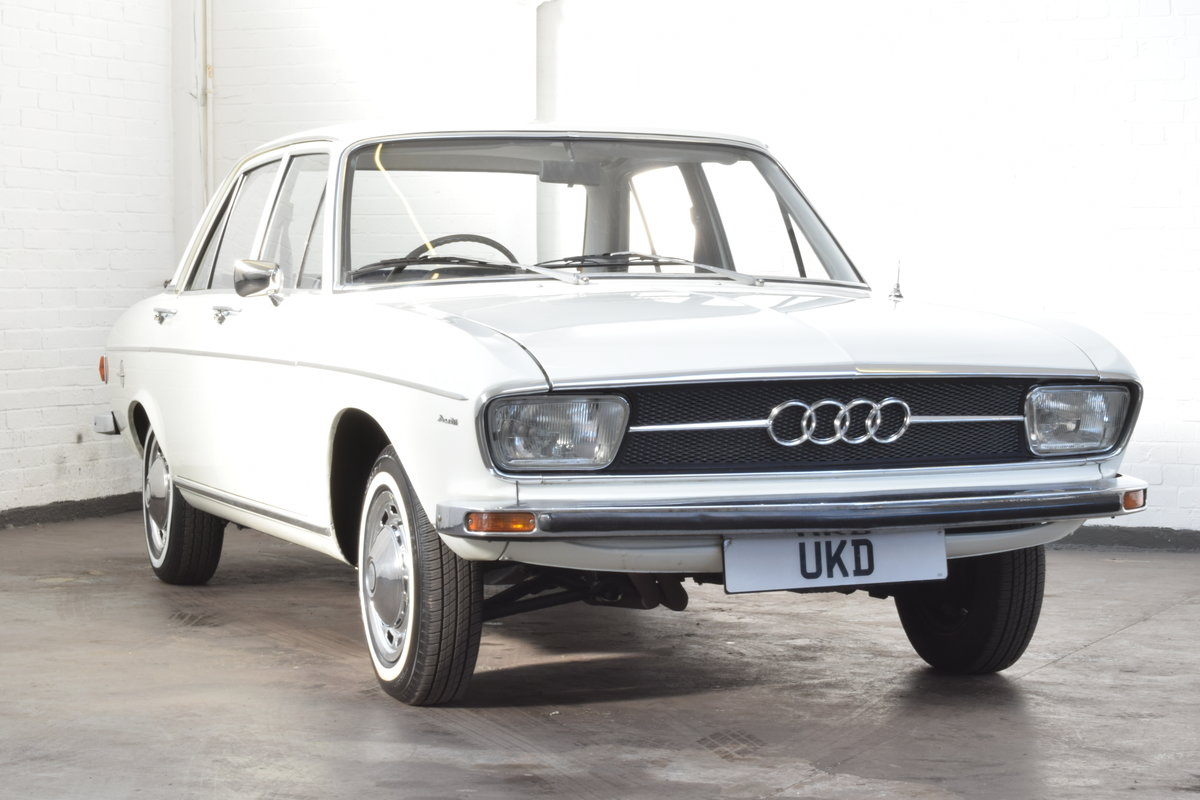 AUDI 100 LS WHITE SALOON 1970 For Sale (picture 1 of 10)