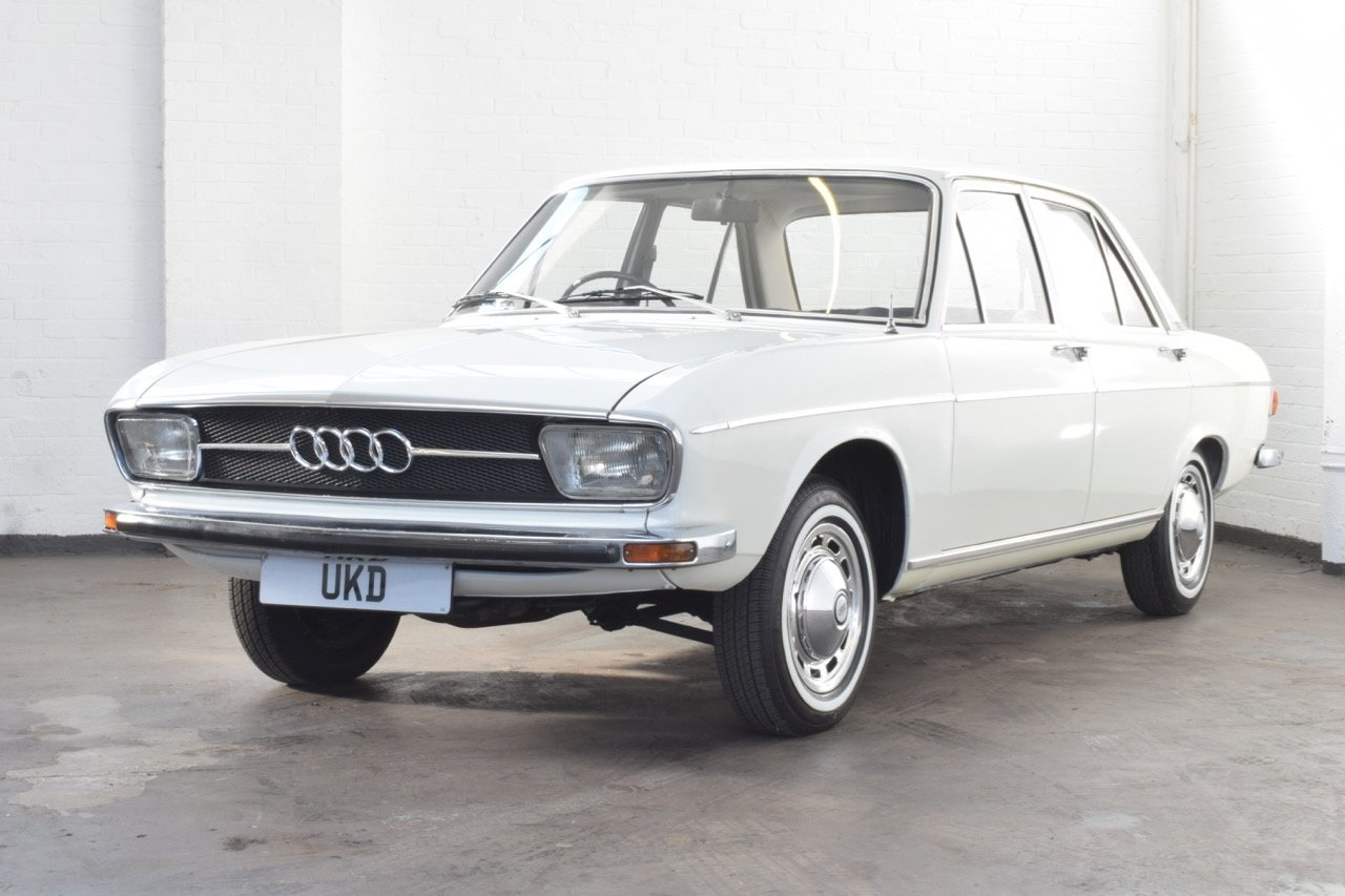 AUDI 100 LS WHITE SALOON 1970 For Sale (picture 3 of 10)