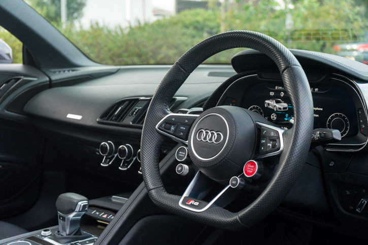 2017 Audi R8 Quattro V10 Plus Spyder S SOLD (picture 4 of 6)