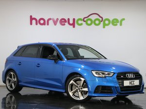 Audi A3 S3 TFSI Quattro Black Edition 5dr S Tronic 2018(18) For Sale