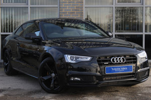 2014 14 AUDI A5 2.0 TDI BLACK EDITION S TRONIC QUATTRO For Sale