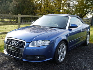 2008 AUDI A4 CABRIOLET 2.0 TDI 140 AUTO S LINE  SOLD