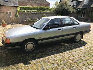 1989 Audi 100 C3 2.2 E Manual Silver New MOT For Sale
